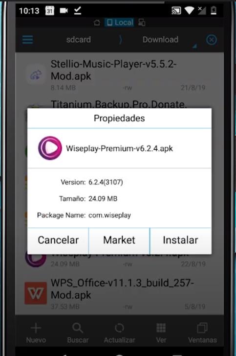 wiseplay premium mod apk